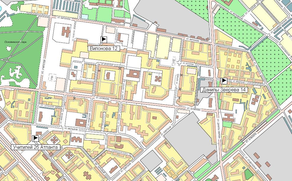 Карта екатеринбурга в векторе скачать бесплатно